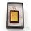 Thumbnail: Dichroic Glass Pendant Dark Tan, Black & Gold  - Louise Ferrier