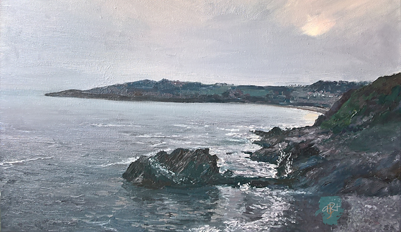 Towards Caswell Bay - Julie Williams (canvas)