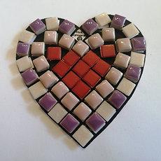 Mini Mosaics - Heart Hanger Duo - Takeaway Taster