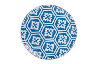 Morocco Blue Flat Plate 28cm