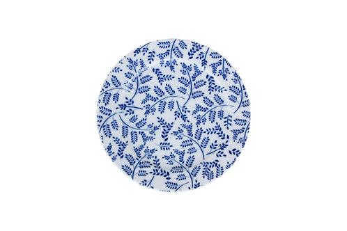 Blue Design6 Flat Plate 16cm