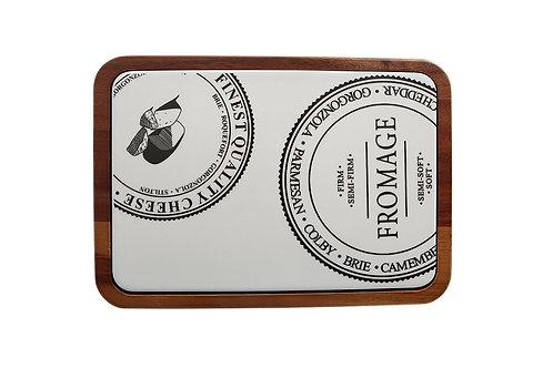 Fromage Rectangular Cheese Platter 30cm