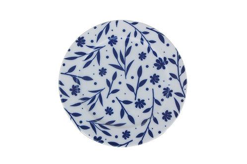 Blue Design2 Flat Plate 20cm
