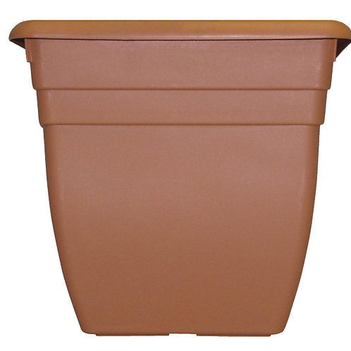 Oasis Square Terracotta  planter 50cm