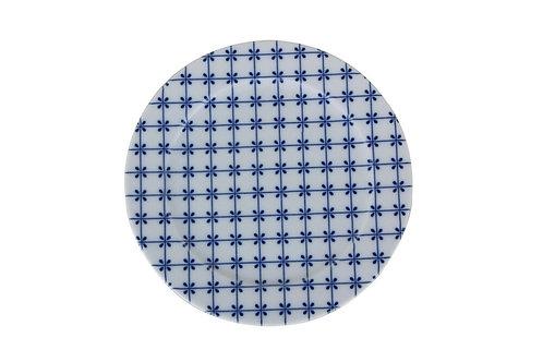 Blue Design3 Flat Plate 20cm