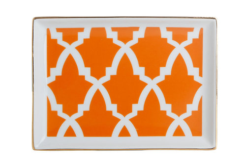 Morocco Orange Breakfast Plate 18cm