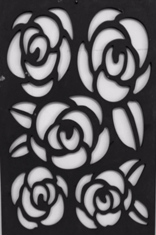 Rose Wall Decor  40x60 cm