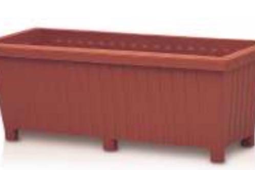 Rectangular Trough Terracotta 87 cm