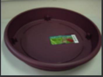 Tuscany Grapeshot saucer for 40cm