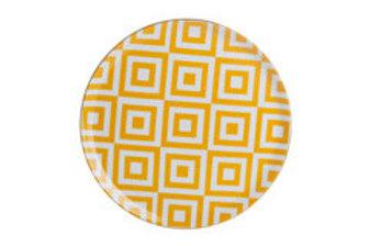 Morocco Yellow Flat Plate 28cm