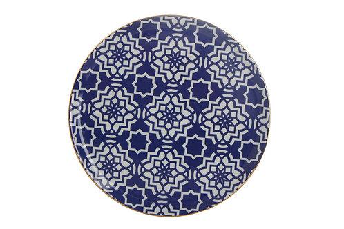 Morocco Purple Flat Plate 28cm