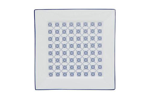 Blue Passion Flat Plate 21cm