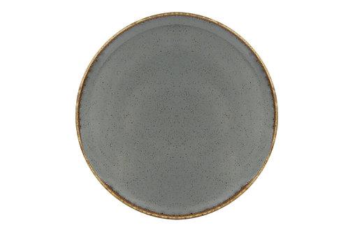 Seasons Dark Grey Pizza Plate 28cm