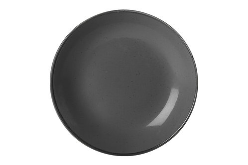 Seasons Black Deep Plate 21cm