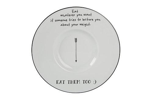 Be Happy Gourmet Plate 28cm