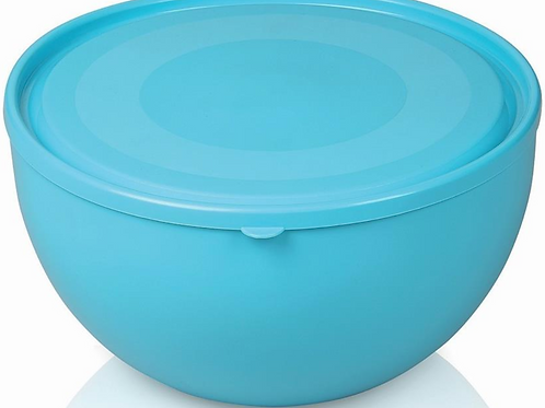 Round Small Bowl with lid 20.5 cm 2.5 lt