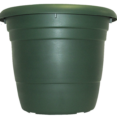 Tuscany Dark Green planter 50cm