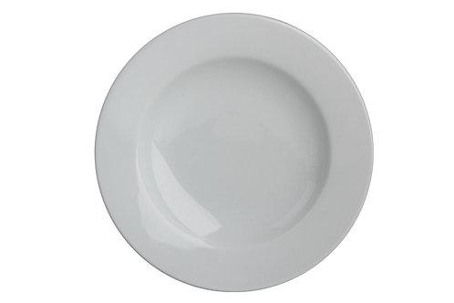 Bella White Deep Plate 25cm