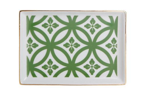 Morocco Green Breakfast Plate 18cm