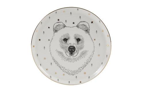 Forest Bear Flat Plate 20cm