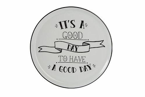 Be Happy Flat Plate 20cm