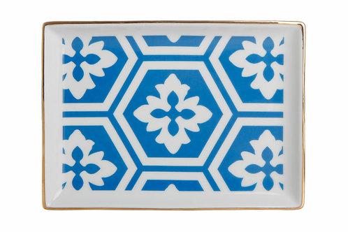 Morocco Blue Breakfast Plate 18cm