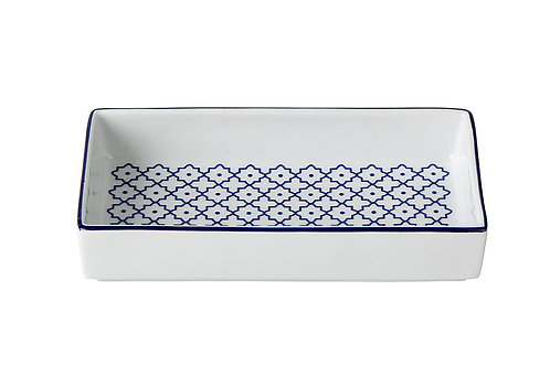 Blue Passion Breakfast Plate 15cm