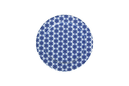 Blue Design4 Flat Plate 16cm