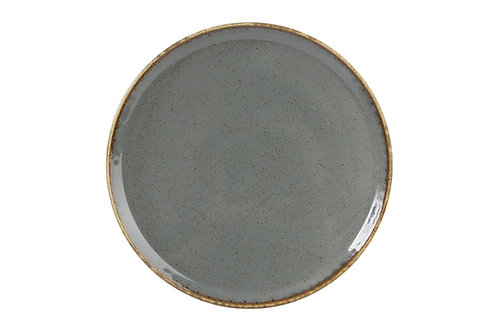 Seasons Dark Grey Pizza Plate 20cm