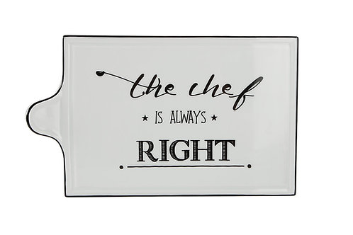 Be Happy Cheese Plate 30cm