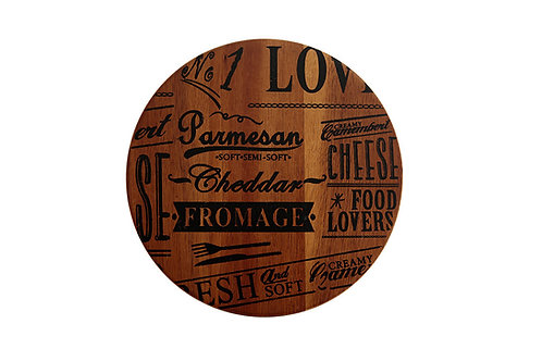 Fromage Rotating Cheese Platter 19cm