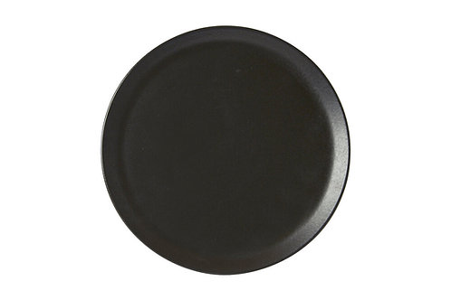 Seasons Black Pizza Plate 28cm
