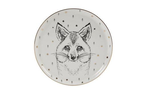Forest Fox Flat Plate 20cm