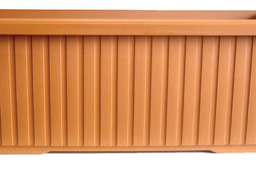 Rectangular Trough Charcoal 98 cm