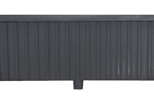 Rectangular Trough Charcoal 87 cm