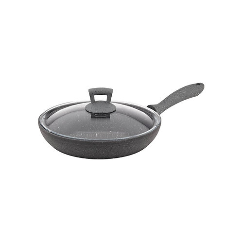 Gertium Red 28cm Frypan With lid
