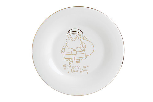 Gold Twinkle Flat Plate 31cm