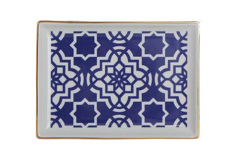 Morocco Purple Breakfast Plate 18cm