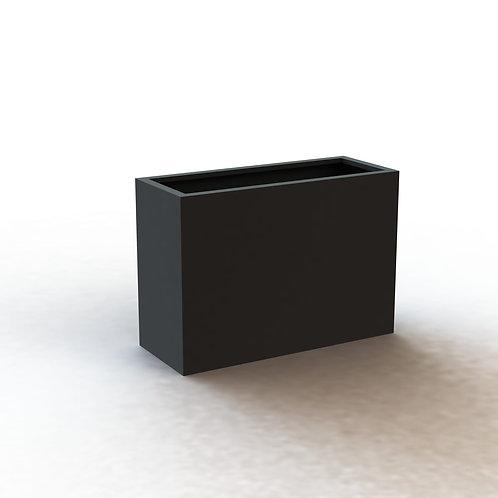 Fiber Glass Charcoal 100 cm RQ/Tall smooth pot