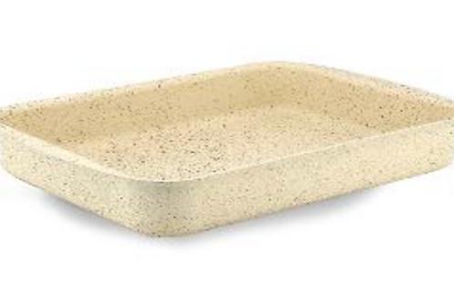 Gertium Beige 30 cm Reqtangular Tray