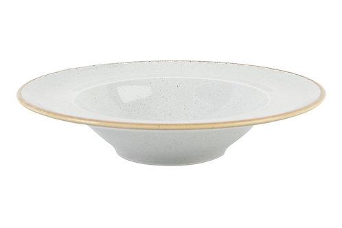 Seasons Grey Deep Plate 26cm