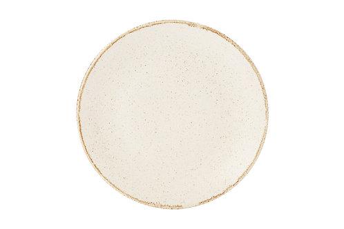 Seasons Beige Flat Plate 24cm