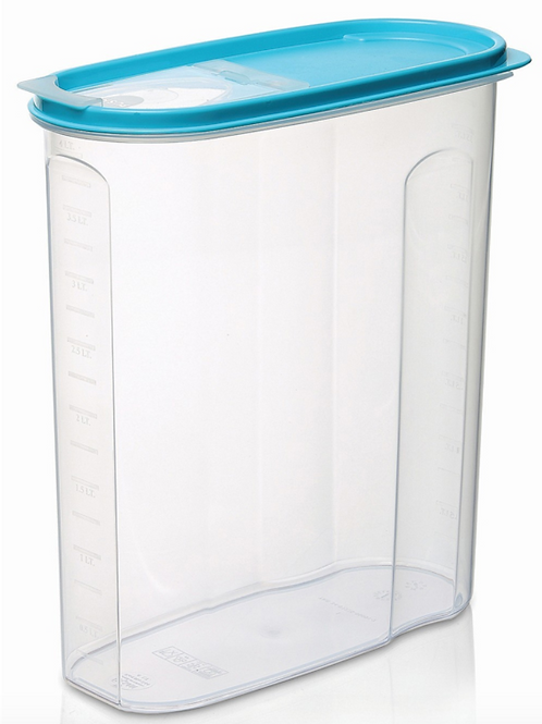 Oval food Container 2400 ml