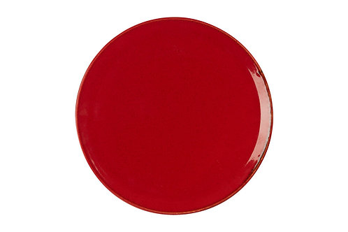 Seasons Red Pizza Plate 28cm