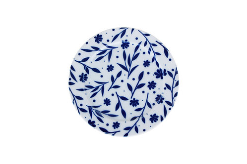 Blue Design2 Flat Plate 16cm
