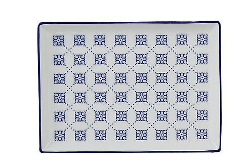 Blue Passion Breakfast Plate 18cm