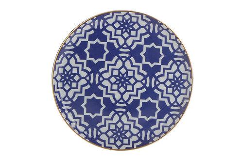 Morocco Purple Flat Plate 20cm