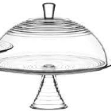 Derin Cake holder with lid