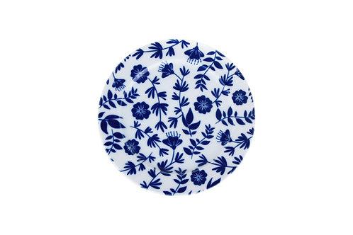 Blue Design1 Flat Plate 16cm