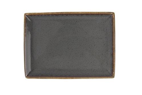 Seasons Dark Grey Breakfast Plate 18cm